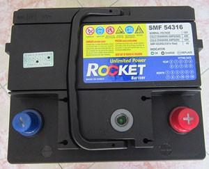 Ắc quy rocket Hàn Quốc lựa chọn không tồi cho ô tô của mình.