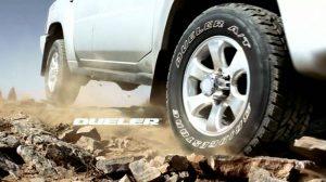 Lốp Bridgestone DUELER AT694 giúp bạn yên tâm trải nghiệm những vùng đất mới.