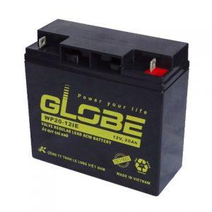 Ắc quy globe dùng cho xe đạp điện, xe máy điện chất lượng cao, bền bỉ.