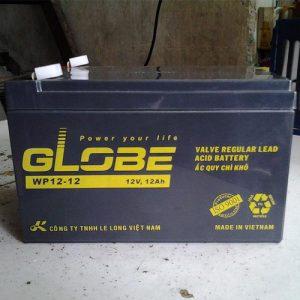 Bình ắc quy globe 12v 12ah cho xe đạp điện.