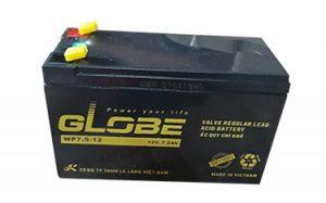Bình ắc quy globe wp7.5-12 (12v - 7.5ah) bền bỉ, điện khỏe bảo hành dài hạn.