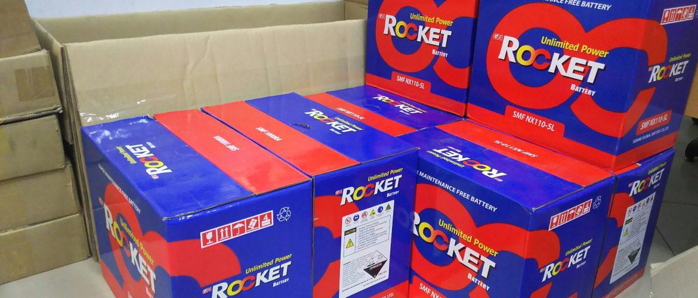 Ắc quy ô tô rocket Hàn Quốc các loại giá cạnh tranh.
