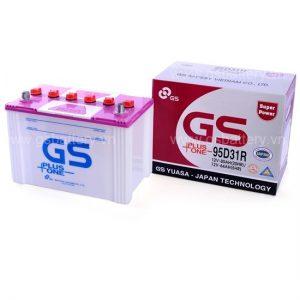 Ắc quy GS 95D31 R/L ( 12V - 80AH )