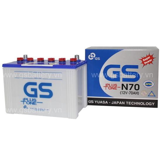 Ắc quy GS N70 ( 12v - 70ah )